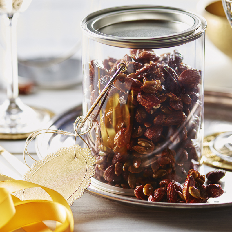Bacon Maple Spiced Nuts
