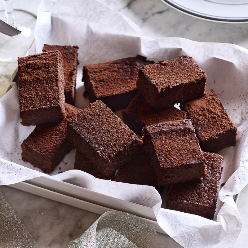 Chocolate Quinoa Brownies