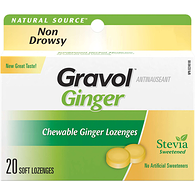 Ginger, Soft Chewable Lozenges