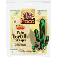Paco Low Fat Tortilla Wrap
