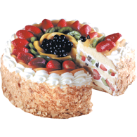 Mixed Fruit Torte