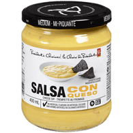 Trempette au fromage moyenne Salsa con Queso