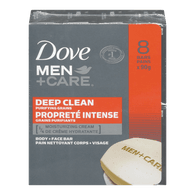 Men+Care Body and Face Bars, Deep Clean