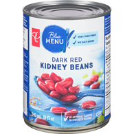 Blue Menu Dark Red Kidney Beans, No Salt Added