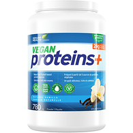 Vegan Proteins+, Natural Vanilla