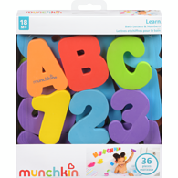 Letters & Numbers Bath Toys