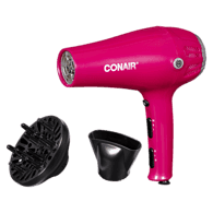 Cord-Reel Tourmaline Ceramic Dryer
