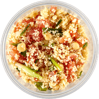 Couscous with Tomato Salad