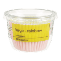 Baking Cups, Large Rainbow