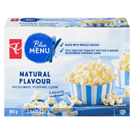 Blue Menu Microwave Popping Corn, Natural