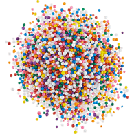 Mixed Round Sprinkles
