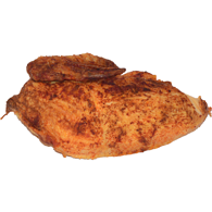Quarter Barbequed Chicken, White Meat
