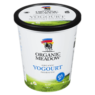 Organic Yogurt, Plain 2%