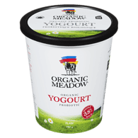 Organic Yogurt, Plain 3.8%