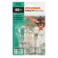 40W Fan Light Bulbs
