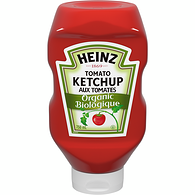 Organic Ketchup, Upside Down Squeeze Bottle