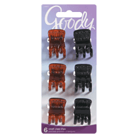 Flat Top Claw Clips, Small
