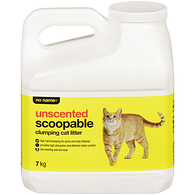 Scoopable Clumping Cat Litter, Unscented