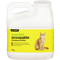 Scoopable Clumping Cat Litter, Scented