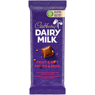 Dairy Milk Fruit and Nut Bar