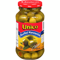 Manzanilla Olives, Stuffed
