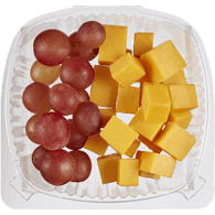 Cheese and Grape Snack
