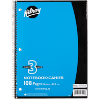 3-Subject Notebook