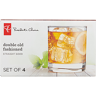 Straight Double Old Fashioned Glasses