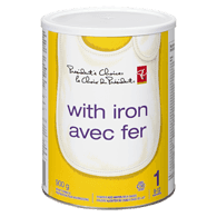Infant Formula Powder With Iron