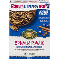 Optimum Power Blueberry Cinnamon Flax Cereal