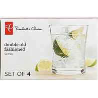 Vetro Double Old Fashioned Glasses