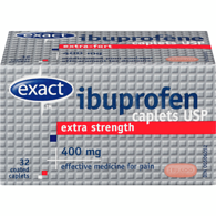 Extra-Strength Ibuprophen 400 mg