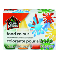Food Colour, Assorted