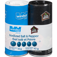 Iodized Salt & Pepper