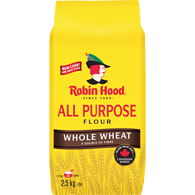 All Purpose Flour, Whole Wheat