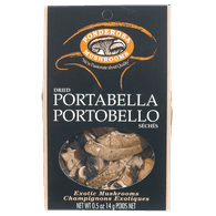 Portabella Mushrooms, Dry