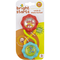Rattle & Shake Barbell Baby Toy