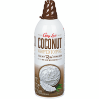 Real Coconut Whipped Cream