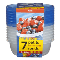 Contenant rond 415 ml