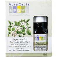 Aura Cacia 100% Pure Essential Oil, Peppermint