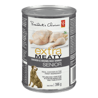 Extra Meaty Senior Dog Food, Chicken & Brown Rice Dinner