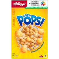 Corn Pops Cereal, Family Size