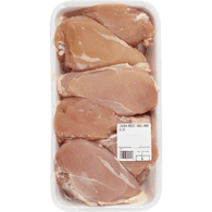Chicken Breast Club Pack, Skinless With Bone