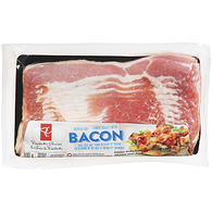 Bacon, 50% Less Salt