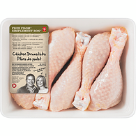 Free From Air Chilled Chicken Drumsticks, Tray Pack