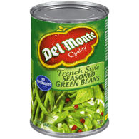 French Style Green Beans, Seasoned
