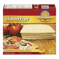 Gluten-Free Personal Size Pizza Crusts