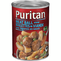 Puritan Meat Ball Stew
