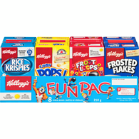 Fun Pac, 8 Cereal Boxes