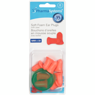 uHear Soft Foam Ear Plugs